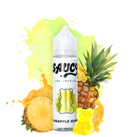 SAUCY ORIGINALS - PINEAPPLE GUMMY 60ml