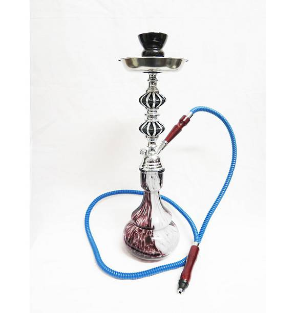 Medium Flow Pattern Shisha Pipe with 1 Hose