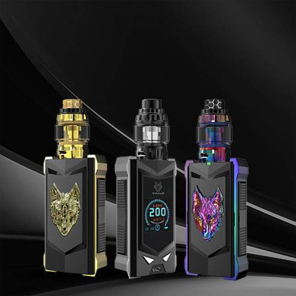 SNOWWOLF MFENG 200W TC STARTER KIT - Limited Edition
