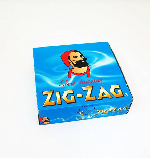 ZIG-ZAG Rolling Papers Blue Box - 50 packs