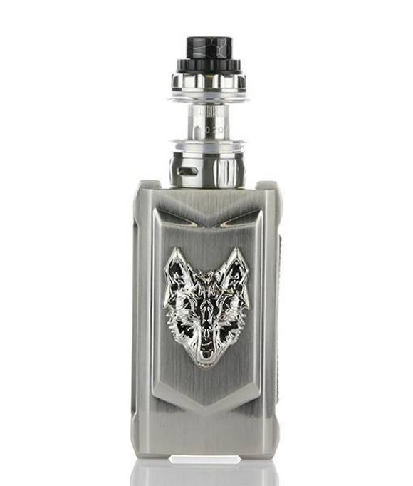 SNOWWOLF MFENG 200W TC STARTER KIT - FULL SILVER