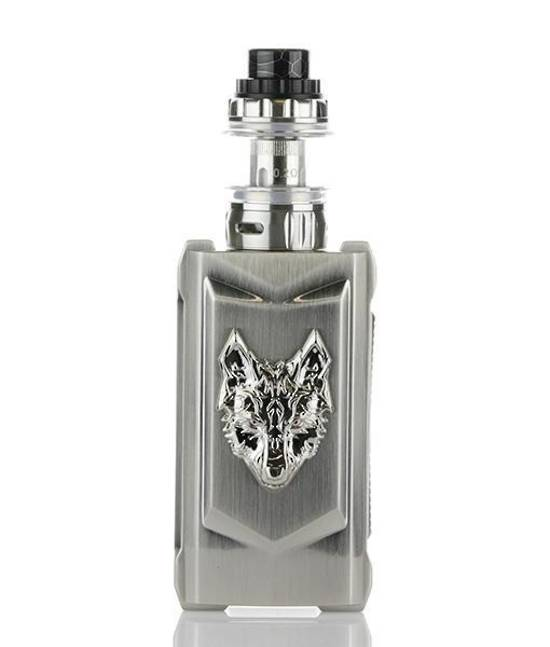snowwolf mfeng 200w tc starter kit full silver
