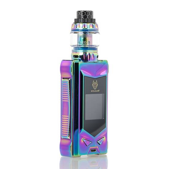 snowwolf mfeng 200w tc starter kit full rainbow