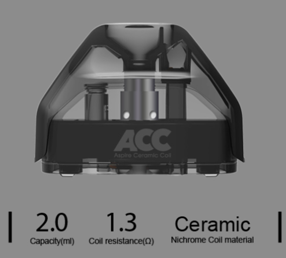 Aspire AVP Ceramic Replacement Pod(1.3ohm)