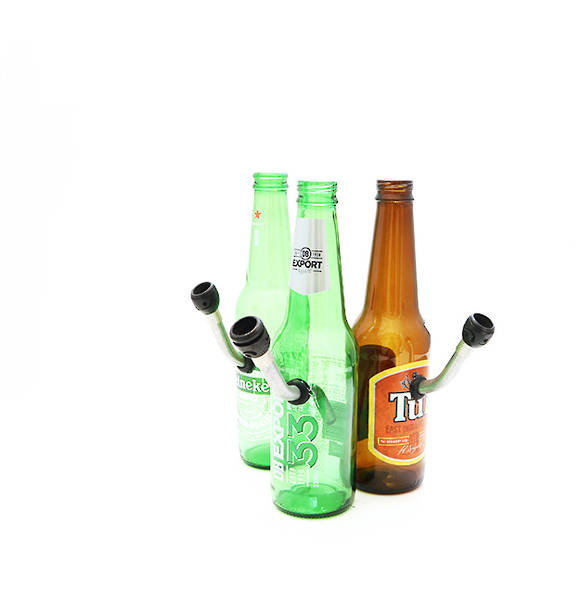 Beer Bottle Water Pipe (random)