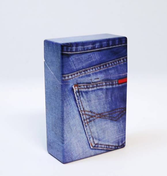 Denim Jeans Cigarette Case