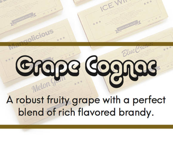 AIRSCREAM AIRSPOPS CARTRIDGE --- Grape Cognac