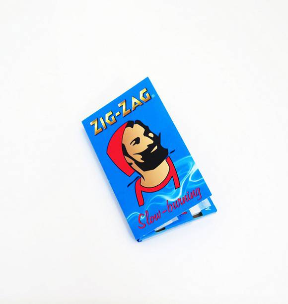 ZIG-ZAG Rolling Paper Blue Single Pack