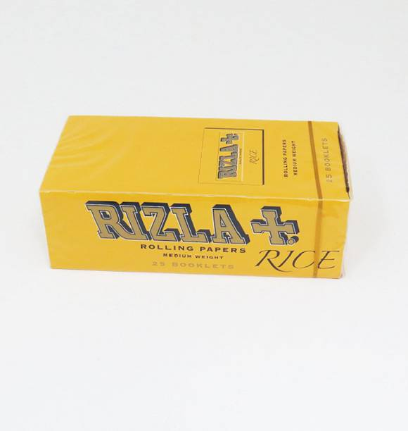RIZLA Double Papers Yellow A Box - 25 packs