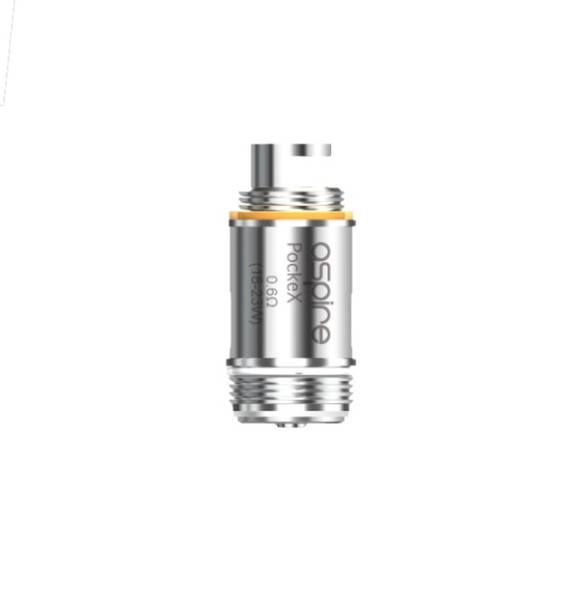 Aspire PockeX Atomizers 0.6OHM