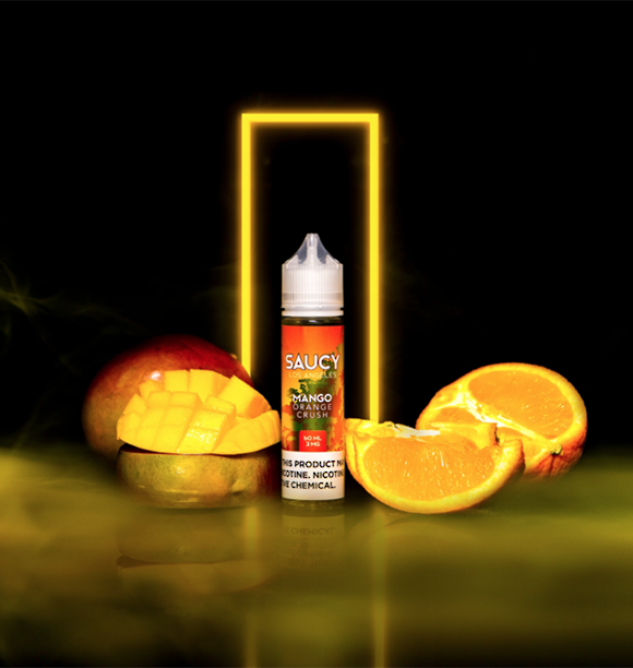SAUCY ORIGINALS - MANGO ORANGE CRUSH 60ml