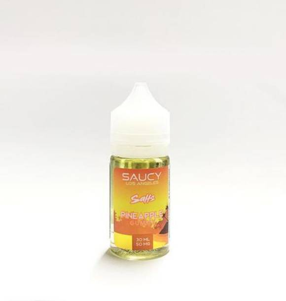 SAUCY SALTS---PINEAPPLE GUMMY 30ML