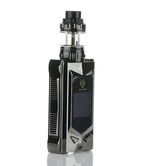 SNOWWOLF MFENG 200W TC STARTER KIT - FULL GUNMETAL