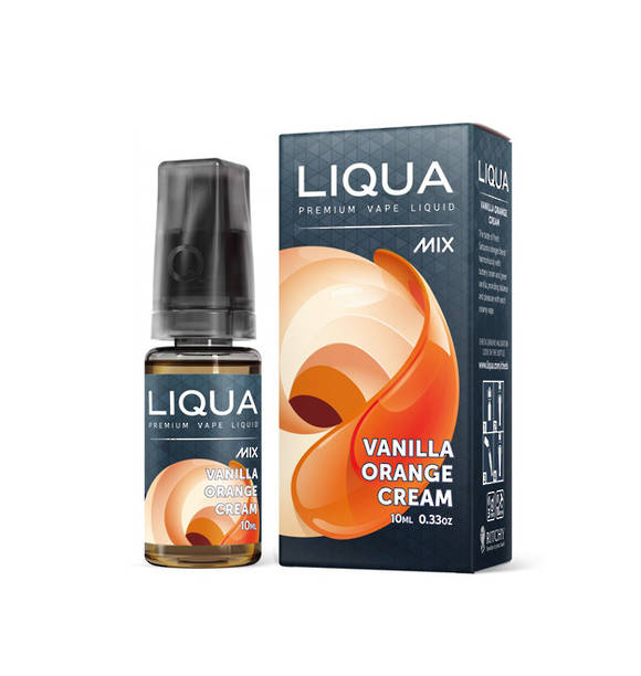 LIQUA MIX E-JUICE, Vanilla Orange Cream